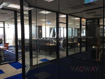 【耀偉】鋁框高隔間 (辦公桌/辦公屏風-規劃施工-拆組搬遷工程-組合隔間-水電網路)5