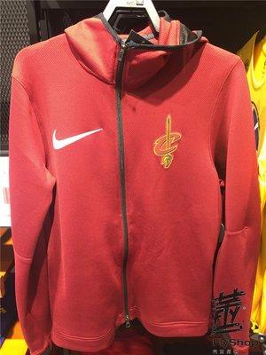 [飛董] NIKE NBA CAVS 騎士隊 連帽外套 899833-677 紅