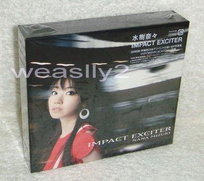 水樹奈奈 Nana Mizuki 極限魅惑 Impact Exciter(日版CD+DVD限定盤) Metal Gear Solid Peace Walker