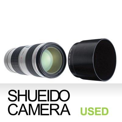 集英堂写真機【3個月保固】中古美品 / CANON EF 70-200mm F4 L IS USM 變焦鏡頭 12030