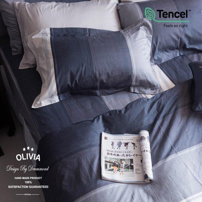 【OLIVIA 】DR5002 Clark  歐式薄枕套 【兩入】 MOC莫代爾棉 台灣製