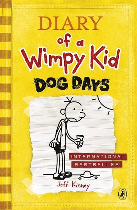 *小貝比的家*DIARY OF A WIMPY KID #4:DOG DAYS (遜咖日記 4: /平裝/7-12歲