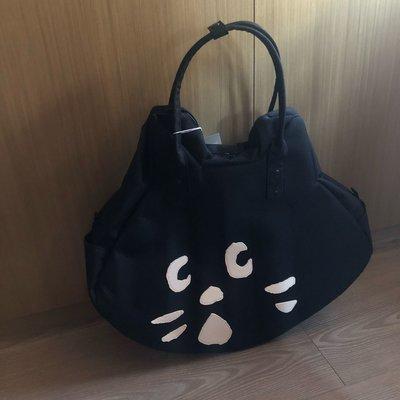 NYA 貓 限量 大臉包 手提包