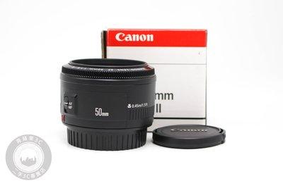 【高雄青蘋果3C】CANON EF 50MM F1.8 II 公司貨 二手鏡頭 定焦鏡#62893