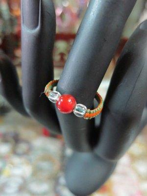 ***愛買藝品館***紅玉髓~戒指   商品編號~100087705597