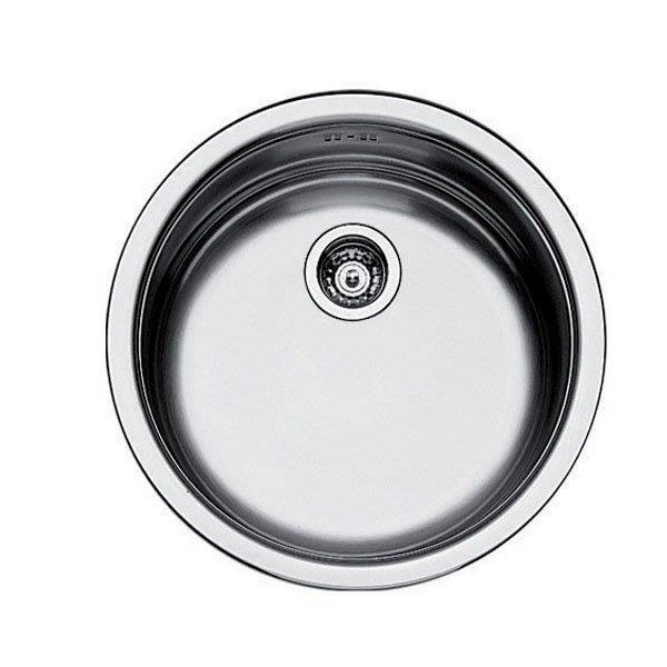 ¢魔法廚房*義大利Foster不銹鋼圓形吧檯小水槽(1010) 進口產品 質感好  44*17.5