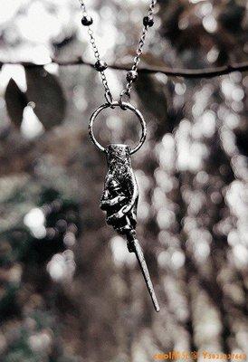 cool酷兒家 東歐RESTYLE  Magic Wand暗黑哥特女巫巫師魔法杖棒神話搖滾項鏈