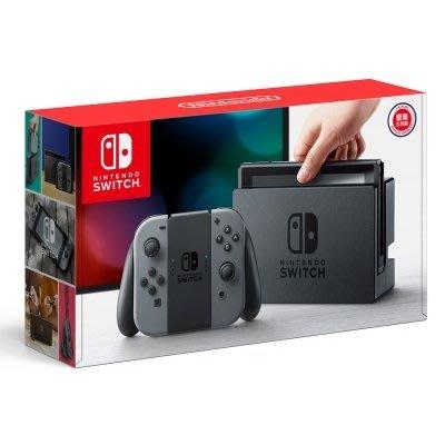 Switch 任天堂 Nintendo Switch 台灣公司貨 灰 Joy-Con 搭配2款遊戲