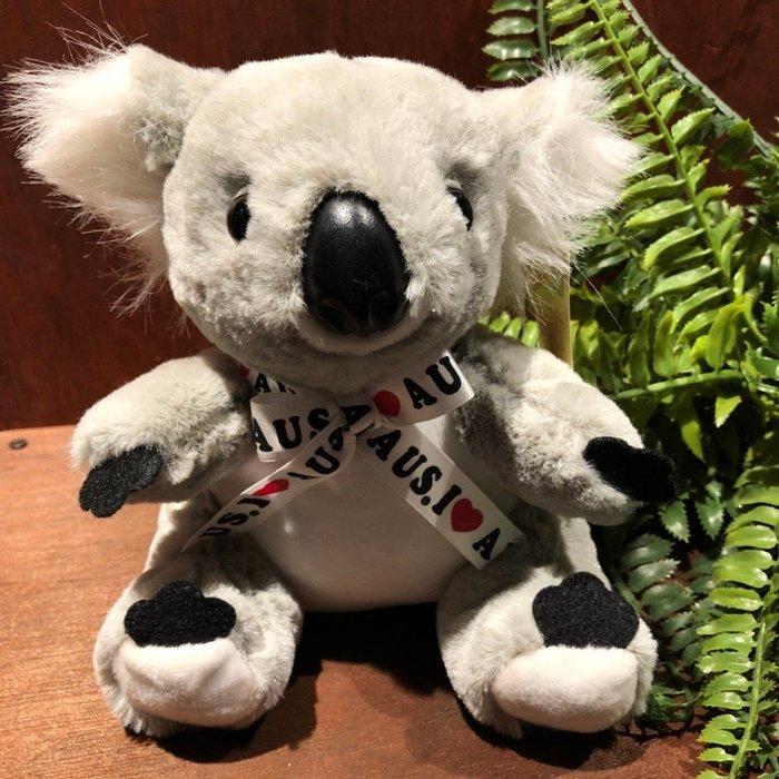 澳洲無尾熊娃娃(蝴蝶結緞帶)-澳洲製造