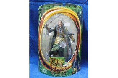 TOY BIZ 魔戒 愛隆 LORD OF THE RING ELROND W/ ELVEN SWORD ATTACK ACTION (LOTR-81062)