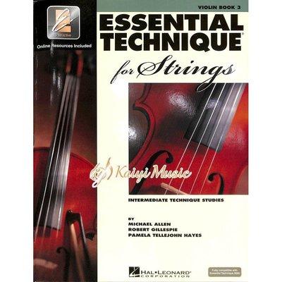 ♫Kaiyi Music♫ Essential elements violin book 3 小提琴教材 樂譜