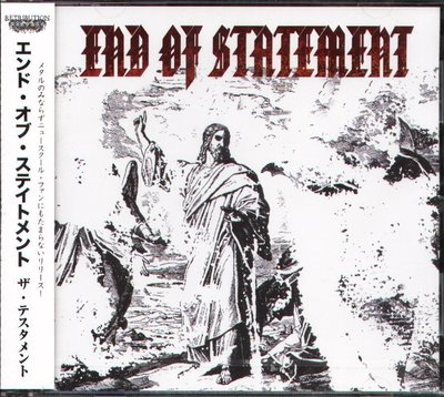 K - End Of Statement - The testament - 日版 - NEW