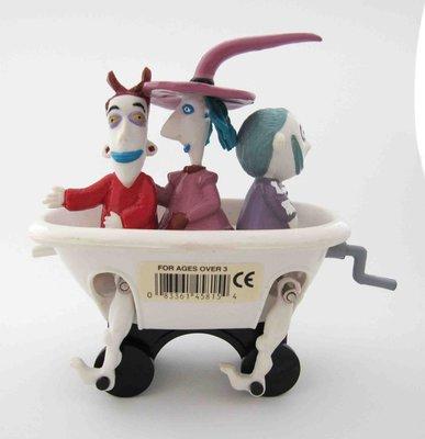 【戴大花2】出清---- 聖誕夜驚魂 主角之一 場景版 絕版收藏品 壞蛋三人組(浴缸)#G114