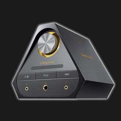 5Cgo【發燒友】Sound Blaster X7 HI-FI 筆記本外置聲卡 USB 耳放 DAC 解碼器國行