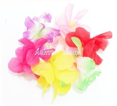S20【派對樂】夏威夷花圈,草裙, 生日舞會尾牙派對用品__彩色夏威夷手環(C)