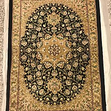 New Persian Carpet, 100% silk, Handmade,