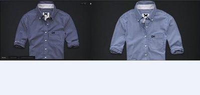 【Gilly Hicks】Broken Bay 條文長袖襯衫,XS號 [假貨猖獗!! 請看 關於我 ]