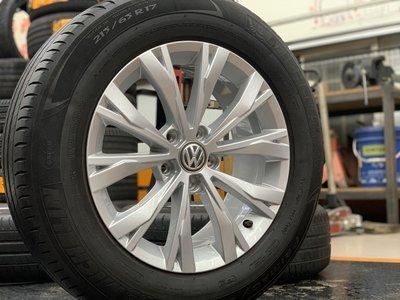 鋁圈品項極新 福斯VW 新Tiguan 原廠鋁圈17寸+215/65-17 米其林胎 德國製 自取15000/套