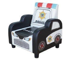 【幼兒警車小沙發 】幼兒園、托嬰中心、桌椅、幼兒、收納、寶貝椅、防撞安全、嬰幼兒