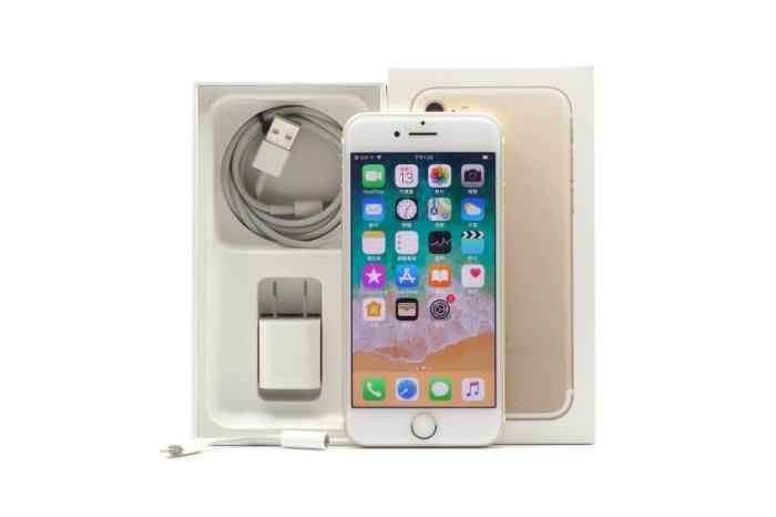 【台中青蘋果】Apple iPhone 7 金 128G 128GB 二手 4.7吋 蘋果手機 #31215