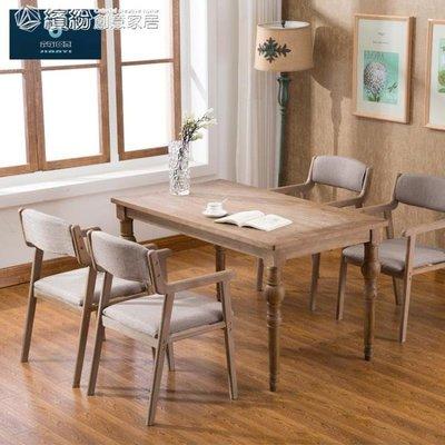 可開發票 簡宜現代簡約復古餐椅實木椅子餐廳扶手休閒靠背椅成人電腦書桌椅YXS 「」 「清新悠然」
