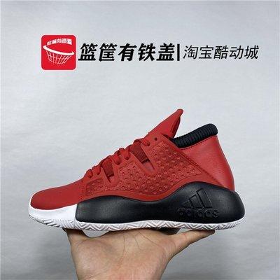 年年与橄榄Adidas/男子Pro Vision實戰耐磨緩震籃球鞋輕便室外籃球EE4587