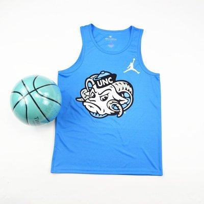 美國NCAA北卡大學 籃球運動上衣 籃球背心 熱身服 正版
