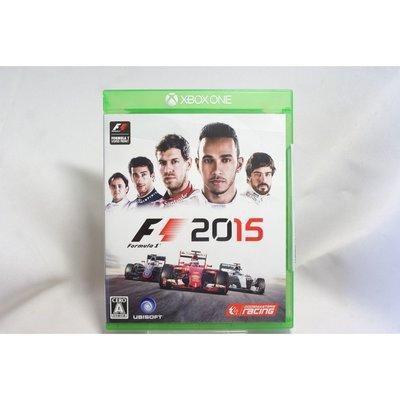 [耀西]二手 純日版 XBOX ONE 一級方程式賽車 F1 2015 含稅附發票