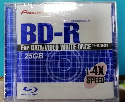 @電子街3C特賣會@現貨全新先鋒 PIONEER 25G BD-R片/4X/單片裝 藍光燒錄片