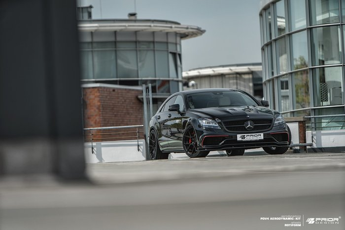 【樂駒】PRIOR DESIGN PDV4 Aerodynamik Mercedes BENZ CLS W218 大包