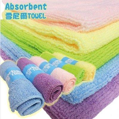 派樂 雪尼爾 極細纖維 吸水毛巾*2(贈方巾*1)-抹布 擦拭巾 spa洗澡 擦拭身體 嬰幼兒洗臉巾
