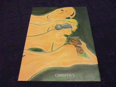 【三米藝術二手書店】常玉「四裸女」專拍《SANYU:A LIFE IN PAINTING》,CHRISTIE'S 佳士得