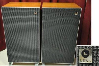 LEAK  2060英國製老喇叭~ 經典名器12吋3音路~好聽.極美品相..售52000元(非JBL.Harbeth.Spendor)