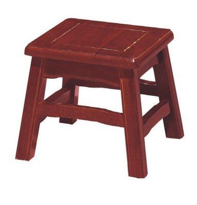 【浪漫滿屋家具】(Gp)604-12 明式低鼓椅(紅木色)