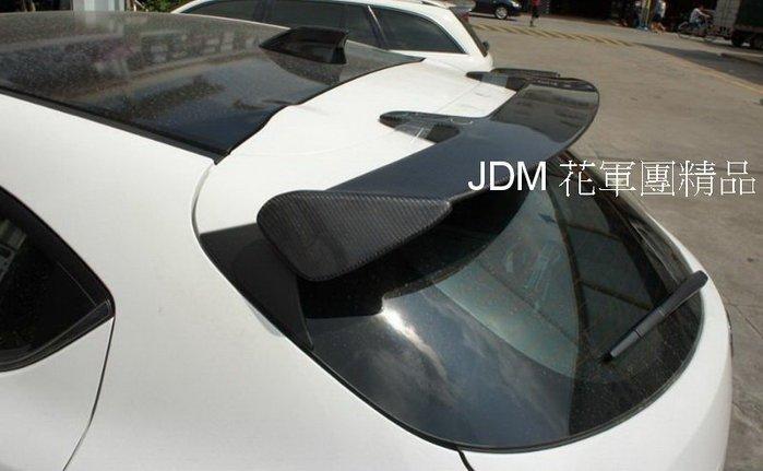 [花軍團精品] 2015 NEW MAZDA 3 5D專用 日本A牌式樣 CARBON 尾翼