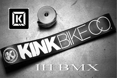 IH BMX KINK 高壓輪圈襯帶 黑色 特技腳踏車Fixed Gear地板車單速車街道車極限單車場地車表演車特技車土坡車下坡車滑板直排輪DH