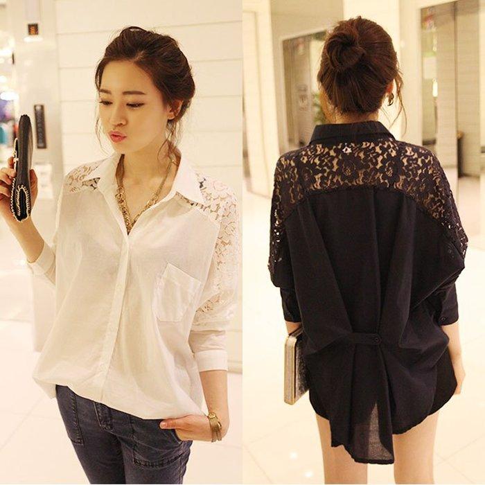 ✿ 吉米花 ✿特價~ B-068286 純色寬鬆蝙蝠袖上衣 ( 白 XL ) 全碼 現貨