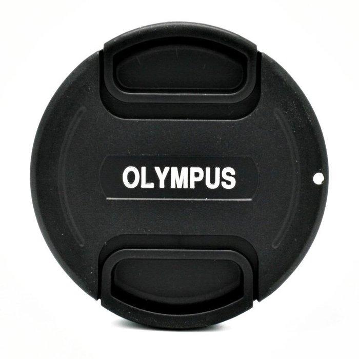 又敗家@奧林巴斯Olympus鏡頭蓋55mm鏡頭蓋B款附繩中捏副廠鏡頭蓋相容原廠LC-55鏡頭蓋55mm鏡頭前蓋55mm鏡蓋55mm鏡前蓋子帶繩附孔繩鏡頭保護蓋