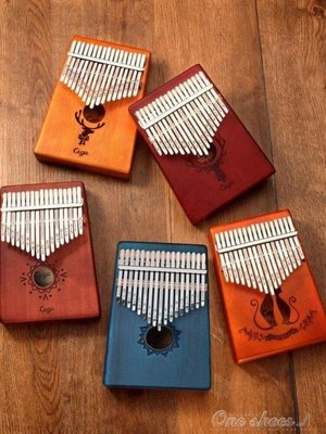 ZIHOPE 拇指琴KALIMBA卡林巴琴17音初學者手指鋼琴指姆琴卡琳巴琴卡巴林ZI812