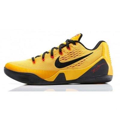 Nike Kobe 9 EM Low Bruce Lee李小龍653972-700黃黑紅IX低筒柯比籃球鞋湖人紫金NBA