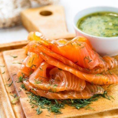 【喬大海鮮屋】北歐煙燻鮭魚200g ±...