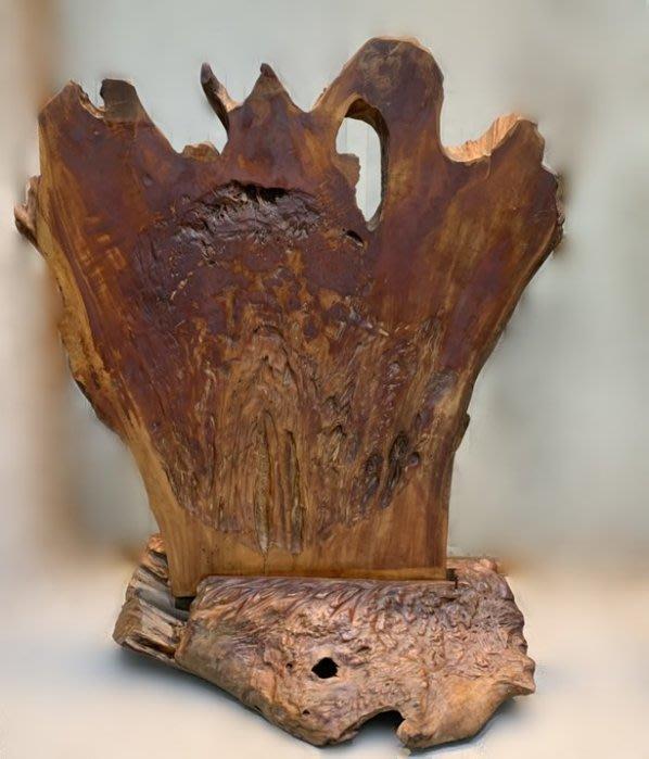 二手家具宏品 台中中古傢俱賣場 ZH110*牛樟雕刻屏風/ 木雕*仿古家具 雕刻藝品買賣 檀木 檜木 柚木 樟木