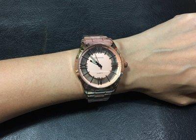 168錶帶配件~BET HOVEN 潮流百搭韓風清晰鏤空懸浮刻度.DKNY CK 時尚中性錶 玫瑰金色