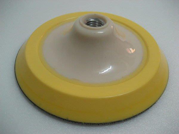 愛車美*~Rotary Backing Plate 6吋進口Ro機背板 魔鬼氈黏扣盤M16牙