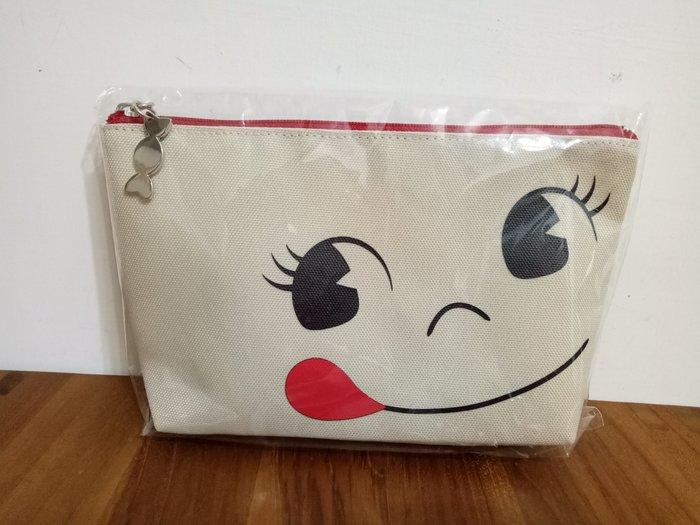 天使熊雜貨小舖~日本帶回不二家牛奶妹peko船型化妝包  日本限定  全新現貨