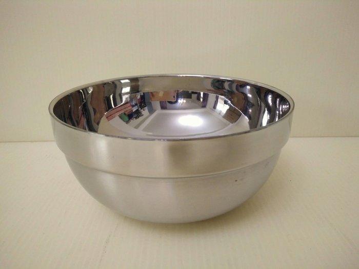 (巧晶)隔熱碗/雙層碗/不鏽鋼碗/兒童餐具 304(18-8)不鏽鋼18CM