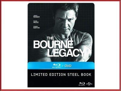 【BD藍光】神鬼認證 4:BD+DVD雙碟限定鐵盒版The Bourne Legacy(台灣繁中字幕)