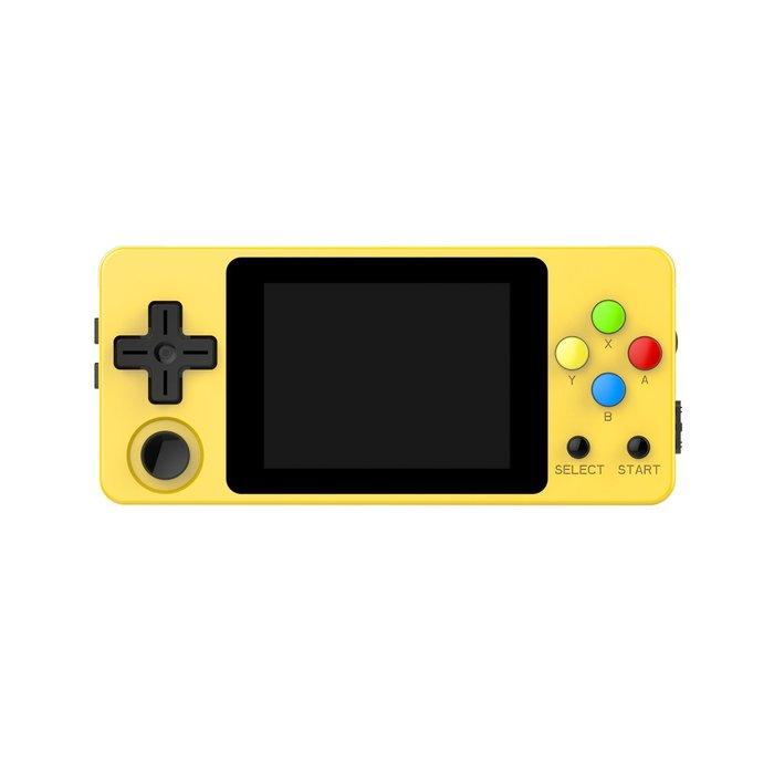 里歐街機 小龍王 三色 類比搖桿新版 掌上型遊戲機 RetroGame 支援超多模擬器 強勁掌機 性能極強大 附32G卡