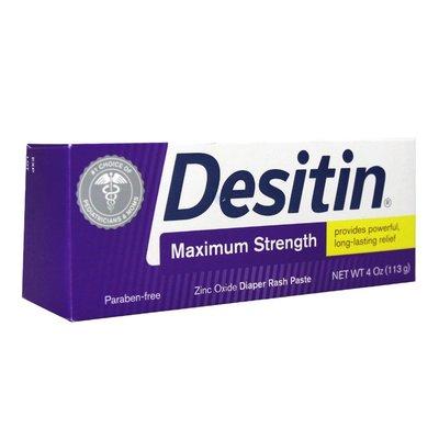 【易油網】【缺貨】Desitin 屁屁膏 Maximum Strength(紫)小屁屁舒緩乳霜 4oz #00071