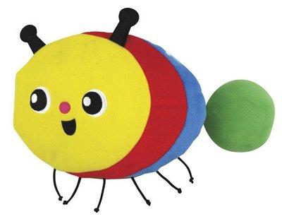 ☆天才老爸☆→美國【K's Kids 奇智奇思】The Crawling Caterpillar  毛毛蟲變蝴蝶←布書